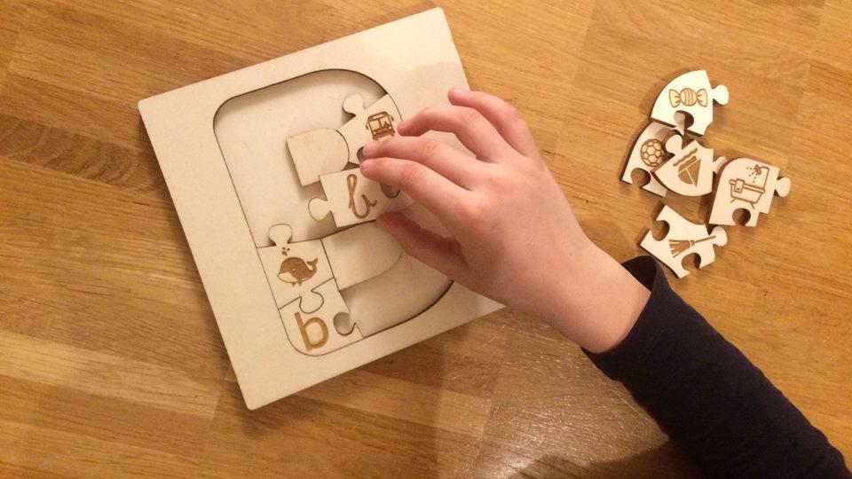 Lettri-Puzzle, les lettres de l'alphabet